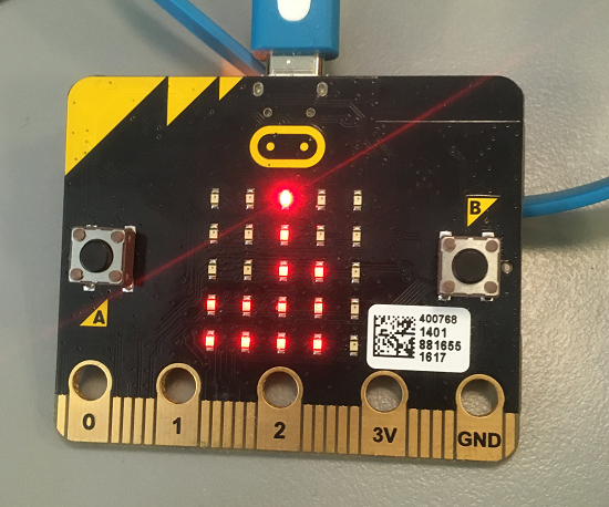 invalid argument - Tiny Tetris for Microbit